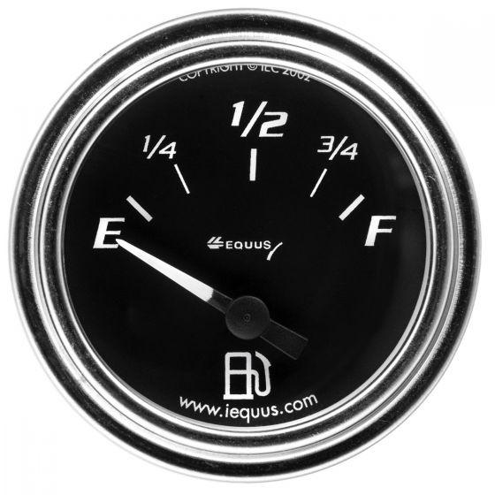 """2"""" chrome fuel level gauge gm"""