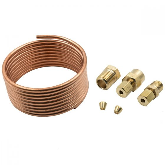 24 Oil Pressure Line Kit with 1//8 NPT Fittings A-1 Racing Products Inc