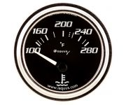 "2"" Chrome Electric Water Temperature Gauge"