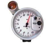 """5"""" PEDESTAL TACHOMETER, 0-10,000 RPM, WHITE, EQUUS"""