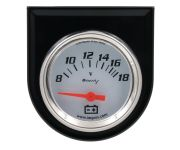 "2"" White Voltmeter Kit"