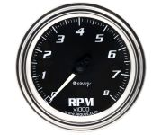 "3-3/8"" Chrome Tachometer"
