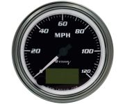 """3-3/8"""" Chrome Electric Speedometer"""