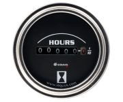 "2"" Chrome Hourmeter"