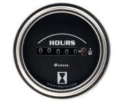 """2"""" Chrome Hourmeter"""