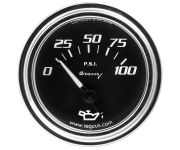 "2"" Chrome Mechanical Oil Pressure Gauge"