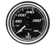 "2"" Chrome Mechanical Water Temperature Gauge"