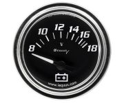 "2"" Chrome Voltmeter"