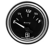 "2"" Chrome Fuel Level Gauge GM"