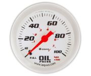 "2-5/8"" Mechanical Oil Pressure Gauge"